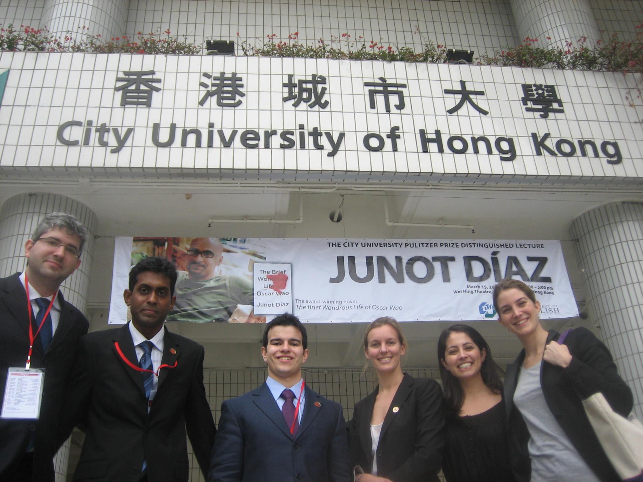 NYU Students at the City University of Hong Kong