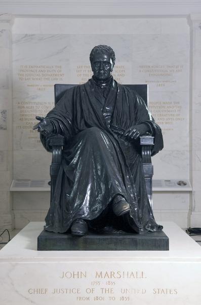 John Marshall statue