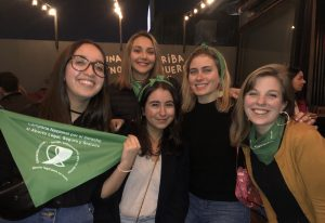 Students from NYU Law and the University of Buenos Aires