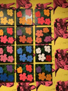"Andy Warhol ""Flowers"" painting"