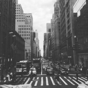 New York City intersection