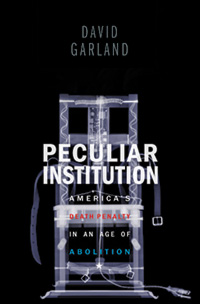 Peculiar Institution: book cover