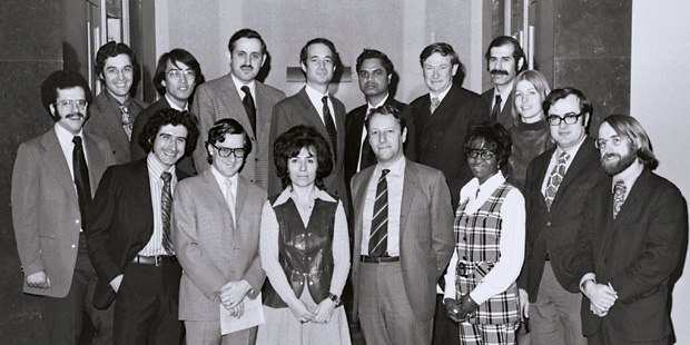 ElBaradei at NYU Law in 1972