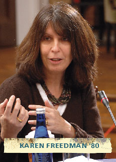 Karen Freedman '80