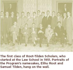 Root-Tilden-Kern Scholars in 1951