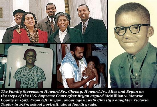 Bryan Stevenson History