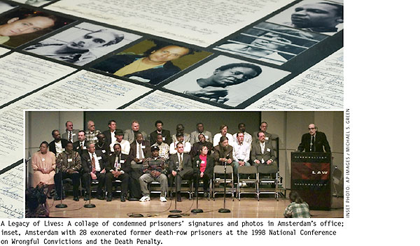 Anthony Amsterdam and 28 exonerated former death-row prisoners