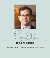 Assistant Professor Ryan Bubb