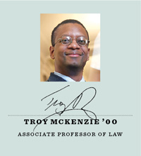 Associate Professor Troy McKenzie