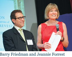 Barry Friedman and Jeannie Forrest