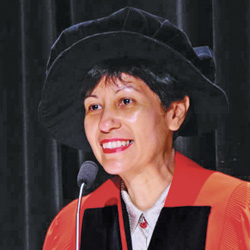 Indranee Rajah, senior minister of state for law and education, Singapore