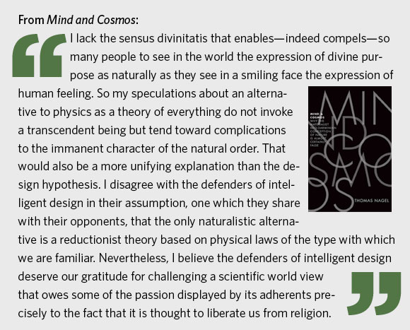 Excerpt from Mind and Cosmos