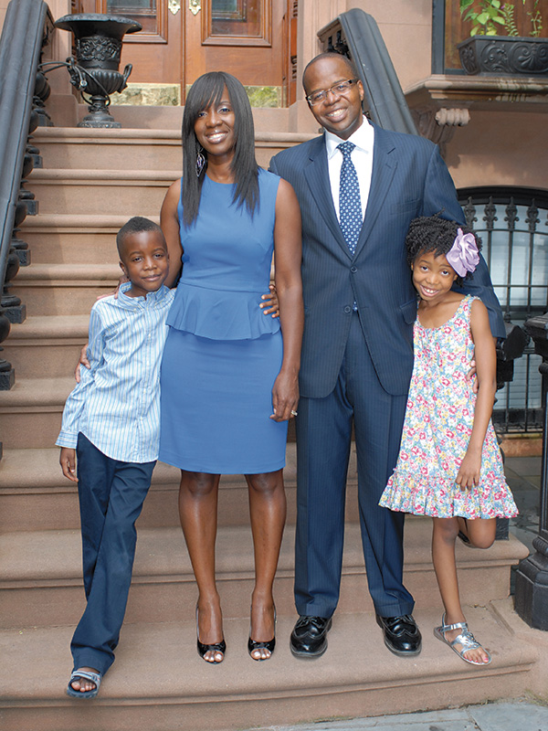 THE THOMPSONS IN 2013: Kenny, Lu-Shawn, Kenneth, and Kennedy.