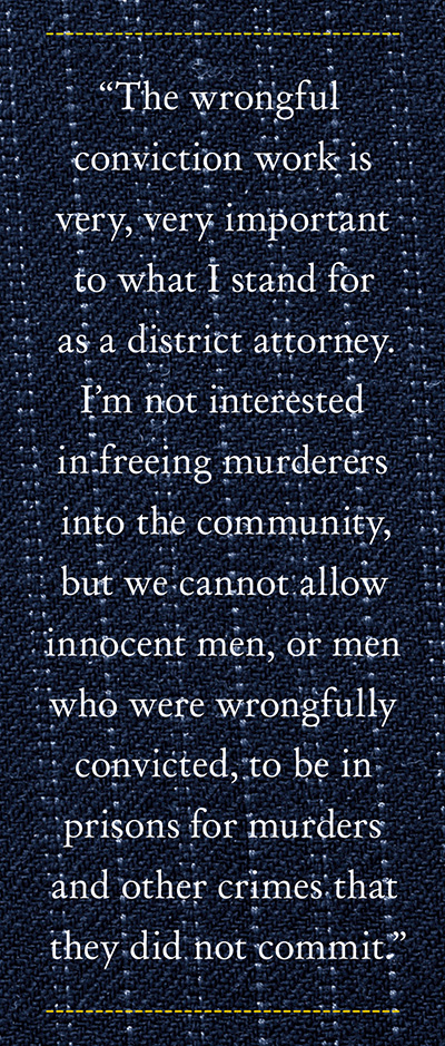 Thompson on wrongful conviction work
